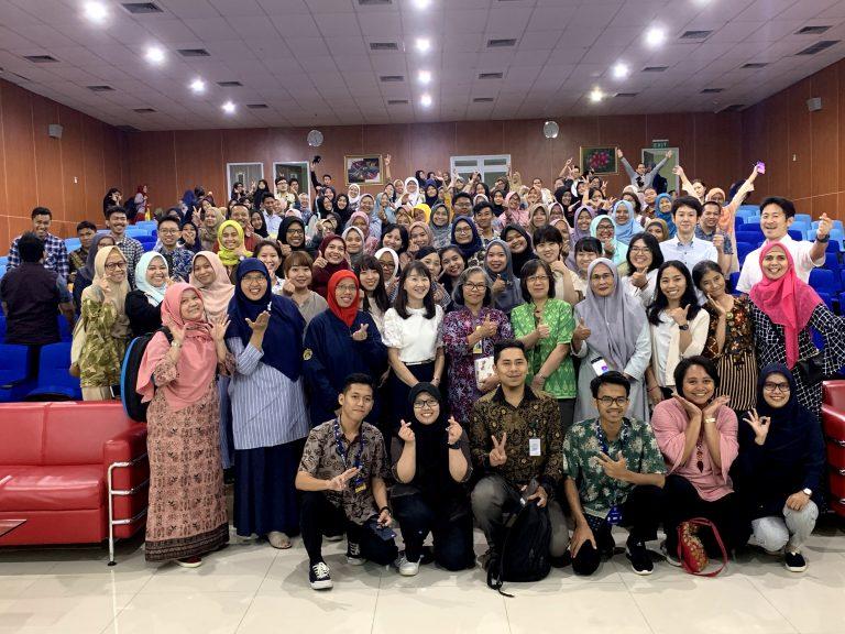 インドネシア大学大学院生との交流
