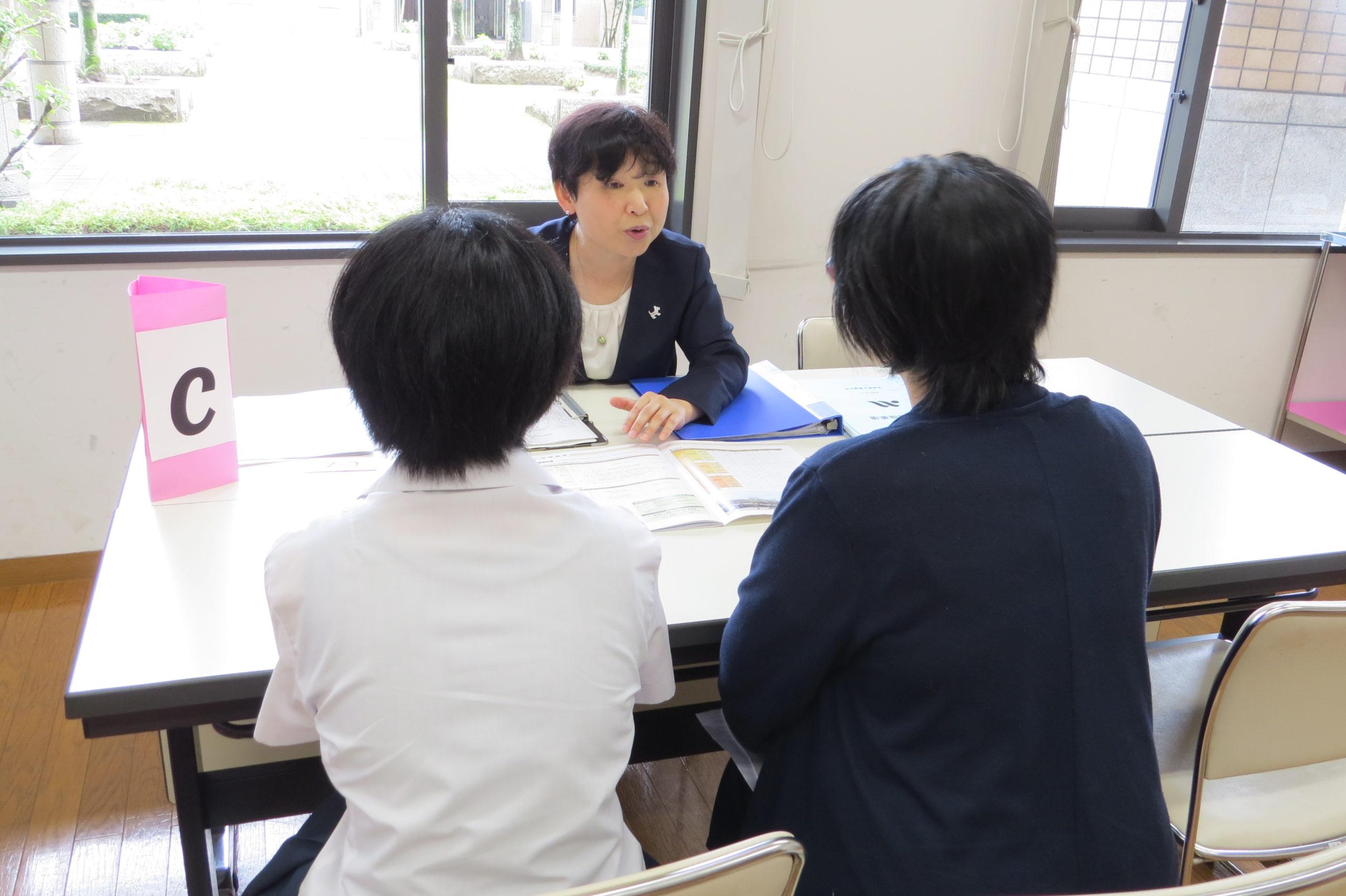 教員による進路相談会
