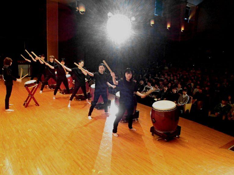 音楽コンサート(いちょう太鼓)