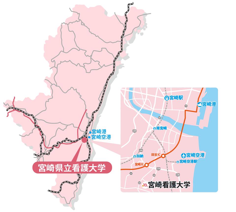 宮崎マップ